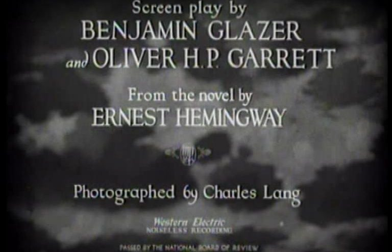 A Guide To Feature Film Opening Credits
