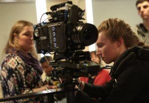 Lisa Sene at a workshop at Talamas.