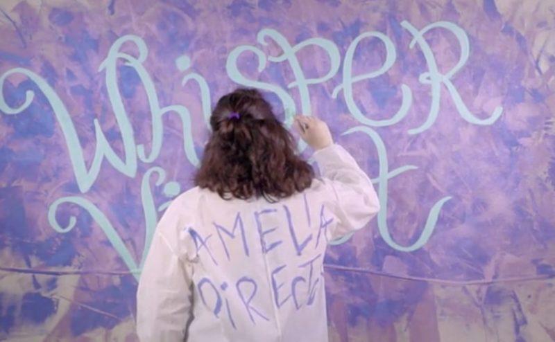 Whisper Violet.