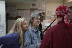 Suzanne C. Dudley (Hannah) and Director Nora Jacobson photo by seungeun lee -