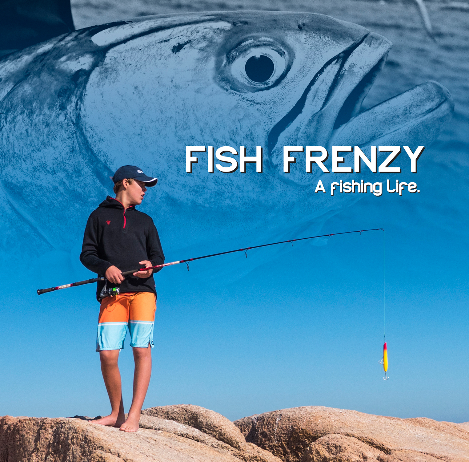 Gus Outdoors Fish Frenzy: A Kid's Fishing Life