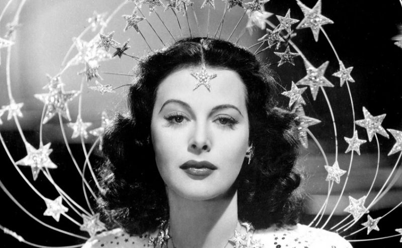 Hedy Lamarr in Bombshell: The Hedy Lamarr Story, which screens at the Providence Art & Design Film Festival and the Boston Jewish Film Festival.