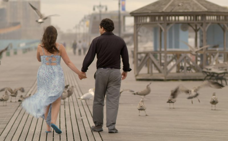 A still from Keep the Change, a romantic comedy about an autistic couple that's playing at the 2017 Boston Jewish Film Festival.