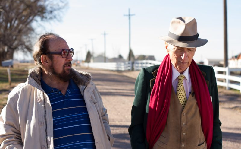 Gerald Foos and Gay Talese in the documentary Voyeur by Josh Koury and Myles Kane.